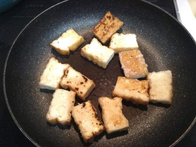 厚揚げのピリ辛ステーキ手順3