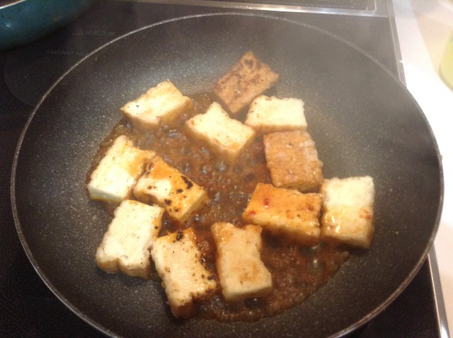 厚揚げのピリ辛ステーキ手順4
