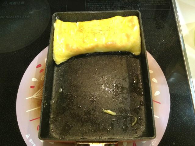 マヨかまぼこ入り卵焼き手順4