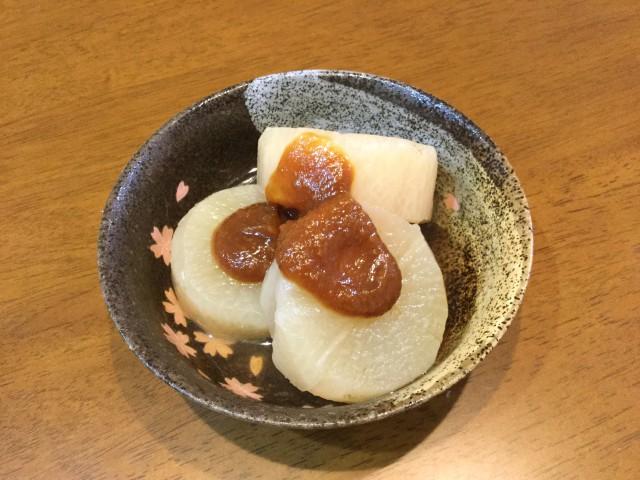 柚子味噌で味わう!ふろふき大根