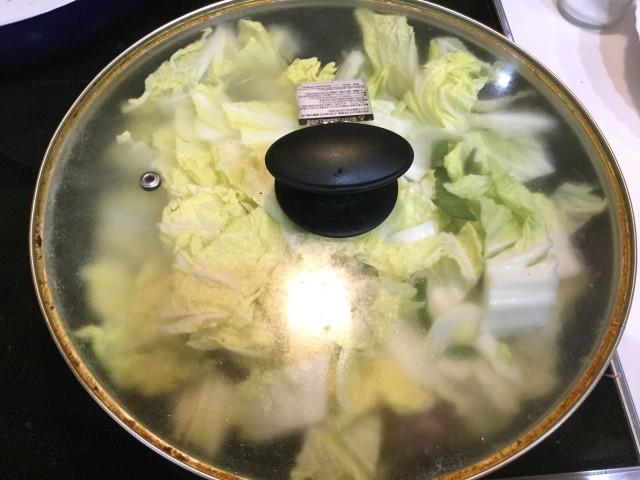野菜たっぷり味噌風味!豚こまで肉団子手順3