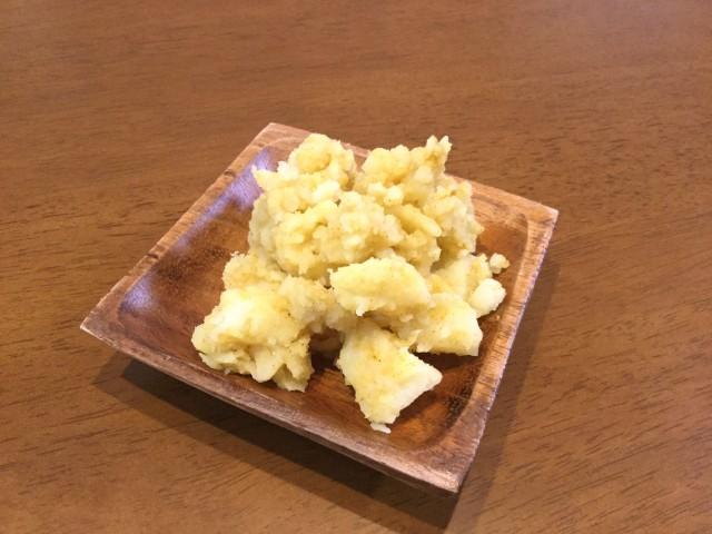 カレー風味の洋風ポテト