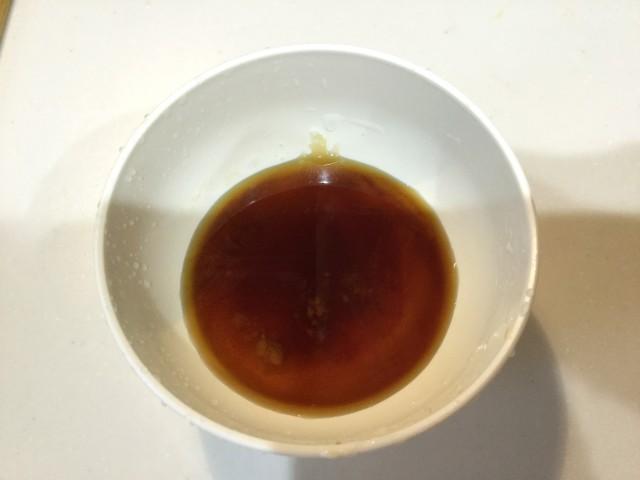 カマスのガーリック風味照り焼き手順2