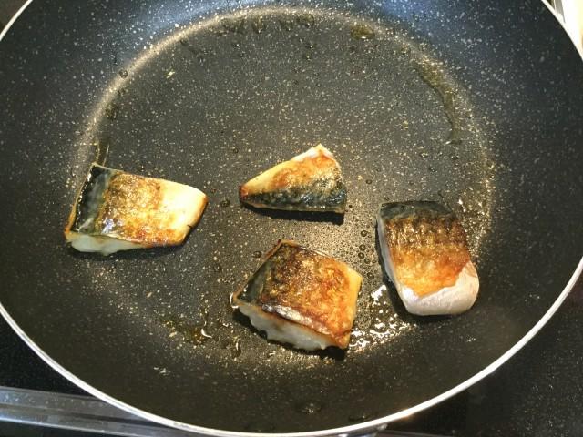 サバの野菜たっぷり甘酢あんかけ手順4