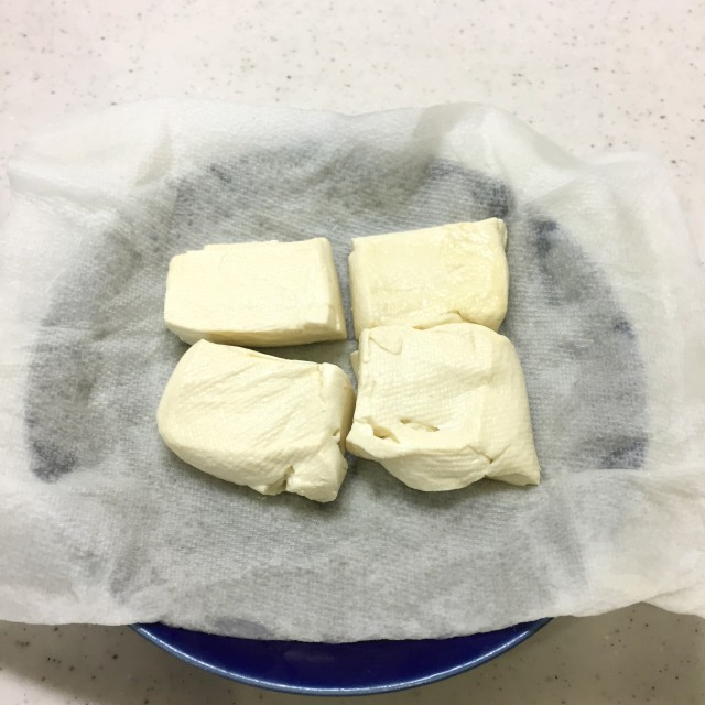豆腐の落し揚げ手順2