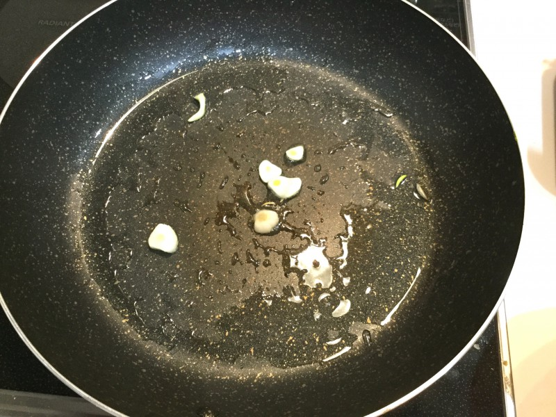 大根おろしガーリックポン酢で食べる!おつまみステーキ手順1