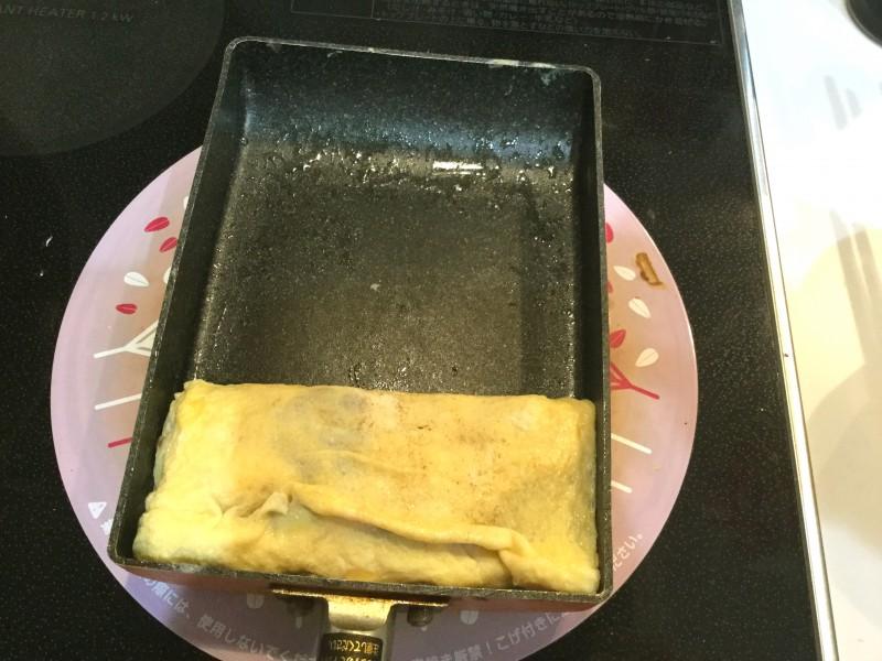 納豆とネギの卵焼き手順4