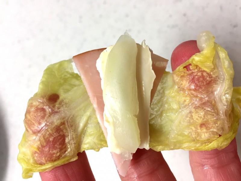 カマンベールチーズの浅漬け巻き手順5