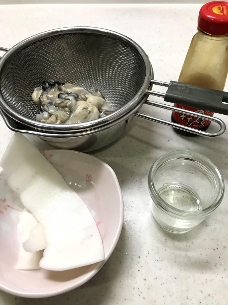 ダブル牡蠣の材料イメージ