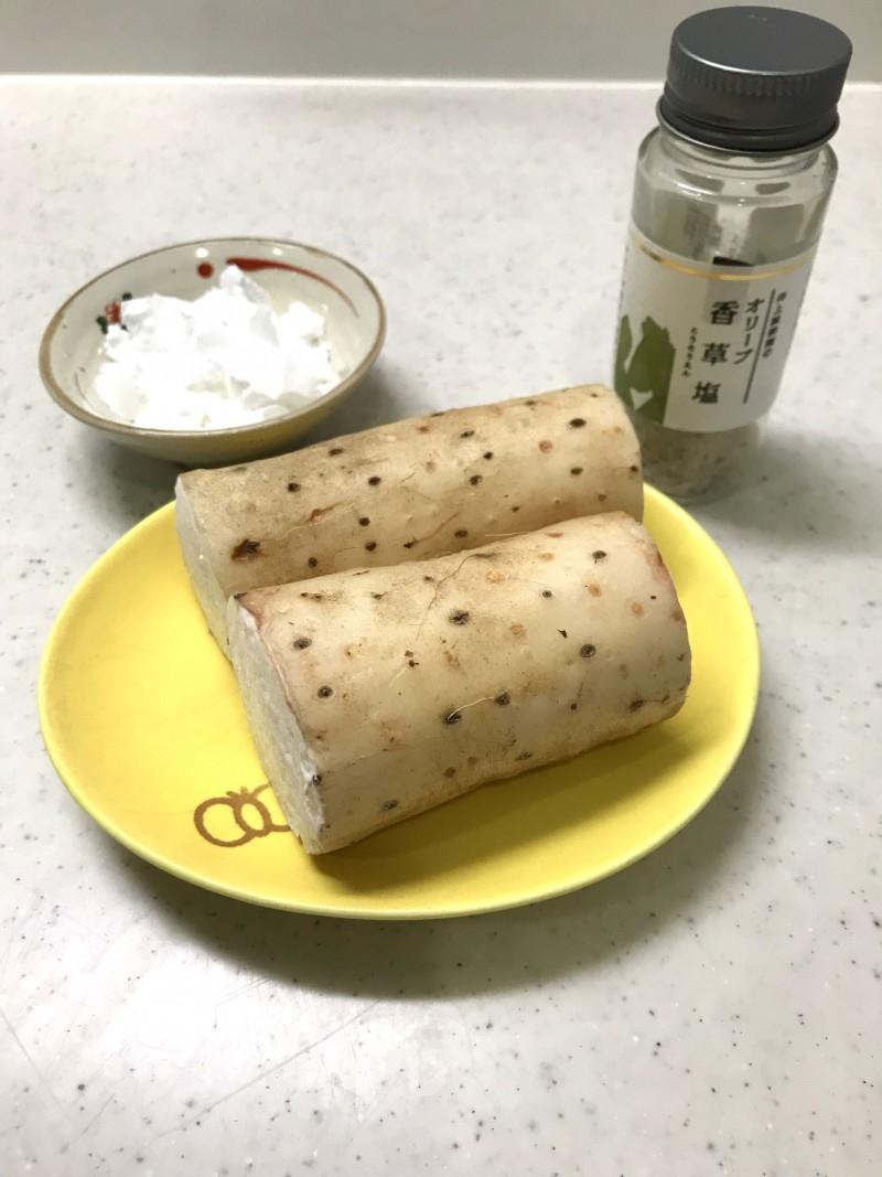 長芋フライの材料イメージ