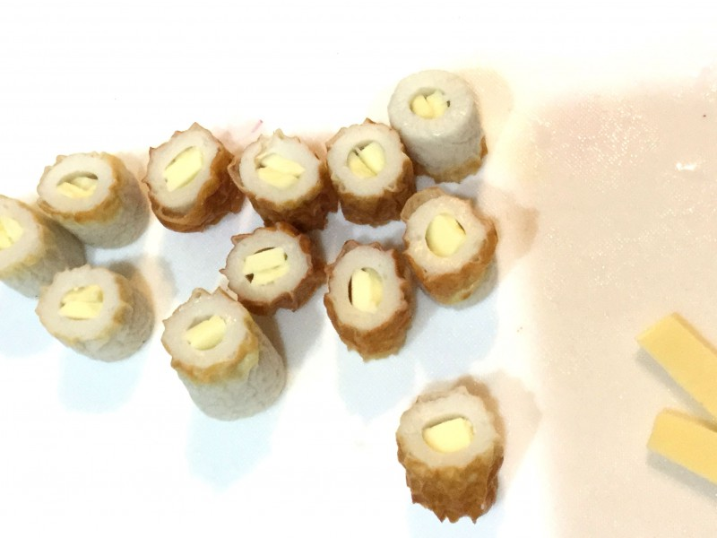 中からチーズがとろ~り!コロコロちくわ揚げ手順2