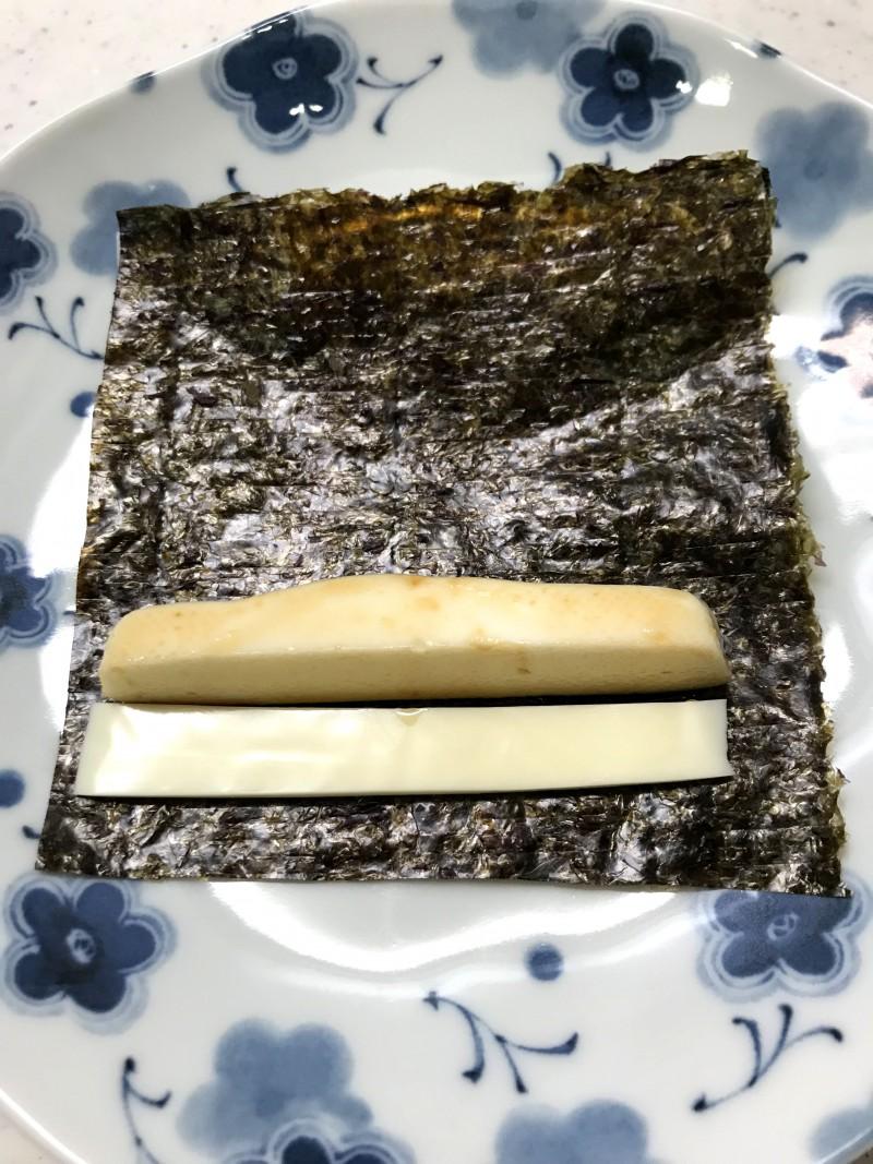 はんぺんのりチーズ手順3