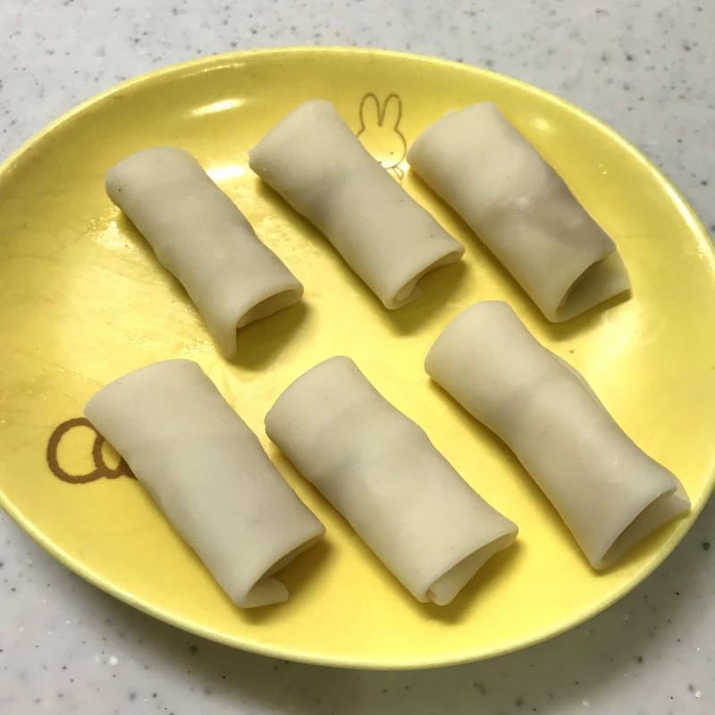 ジャムとチーズの包み揚げ手順4