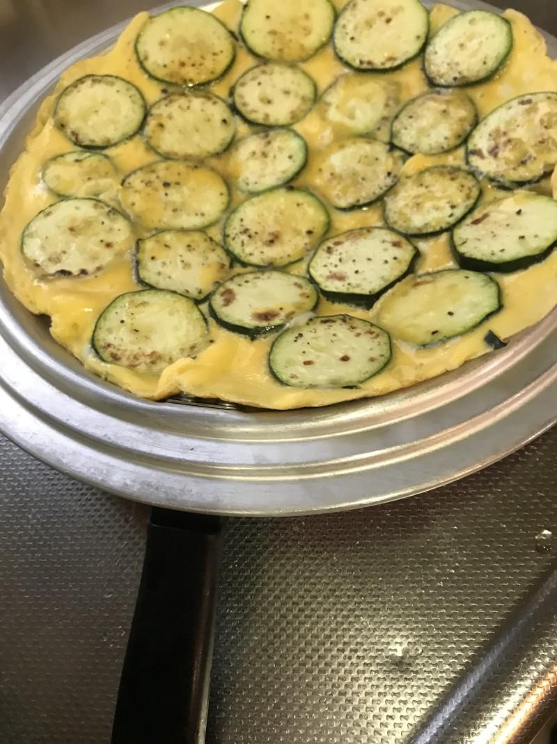 ズッキーニの卵焼き手順4