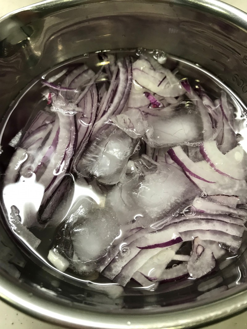 豆苗のお浸し手順1