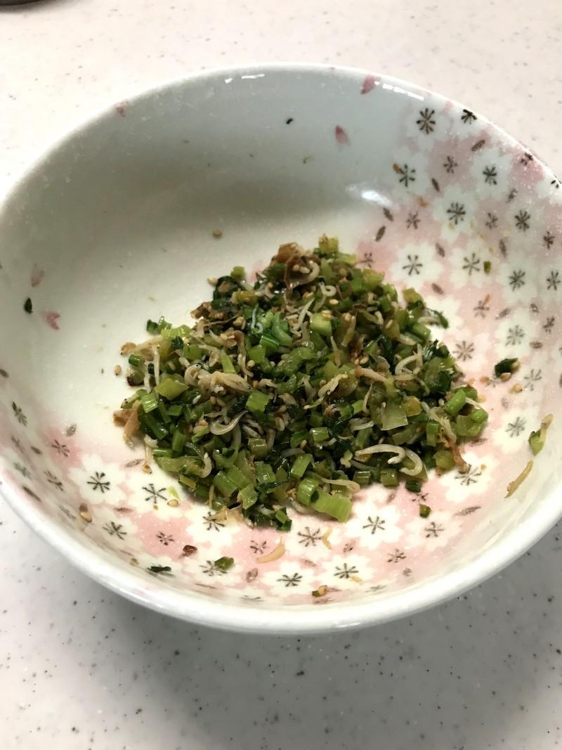 カブの葉の胡麻油炒め