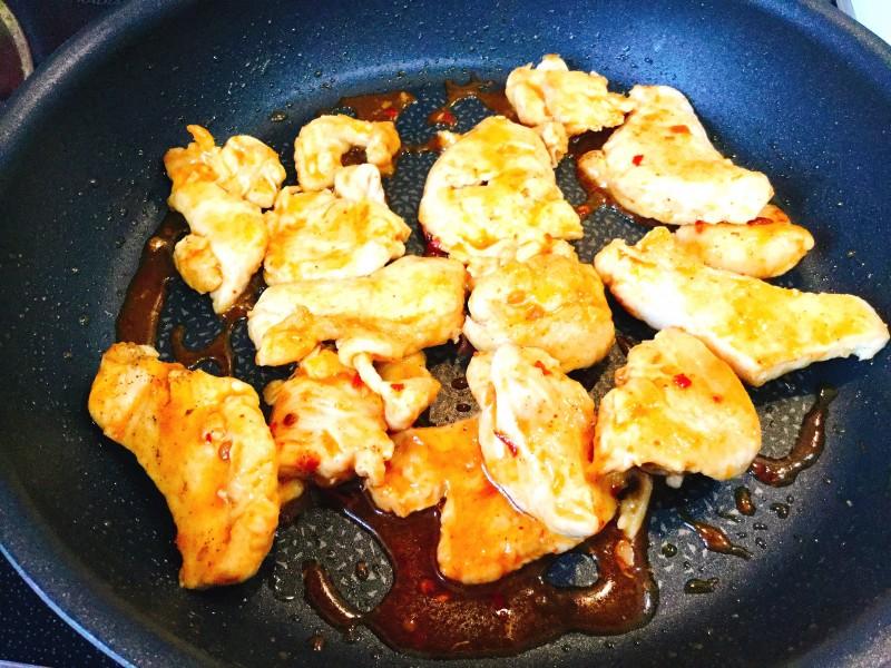 チーズがとろ~り!ピリ辛キムチのチキン手順4