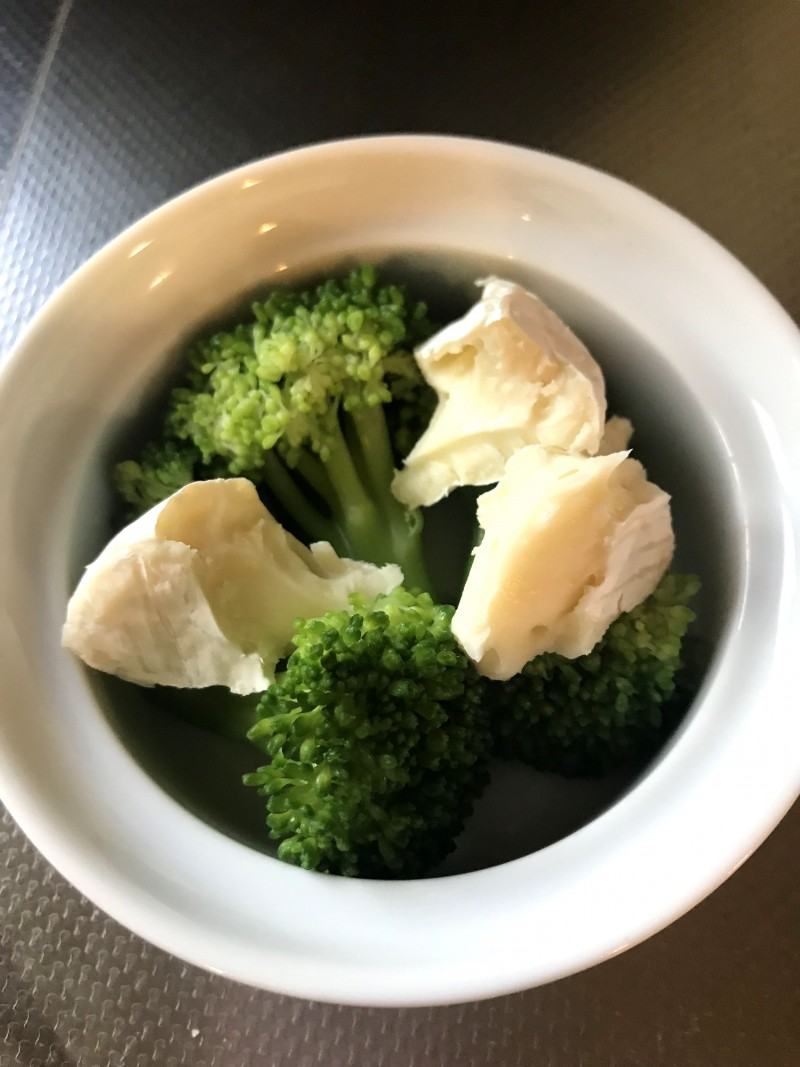 ブロッコリーのチーズ焼き手順2