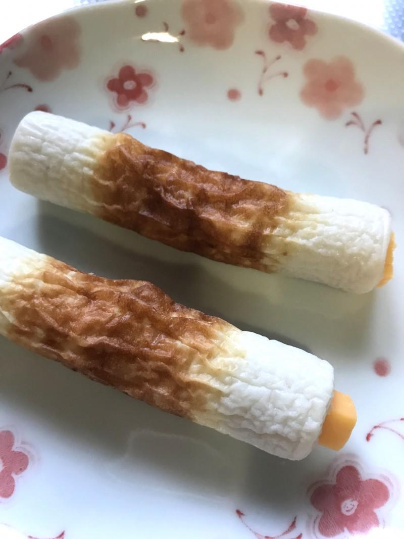 チーズインちくわの卵焼き手順2
