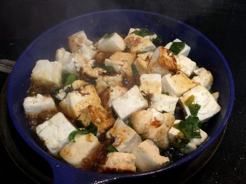 アツアツ!豆腐とネギのスタミナ炒め手順3
