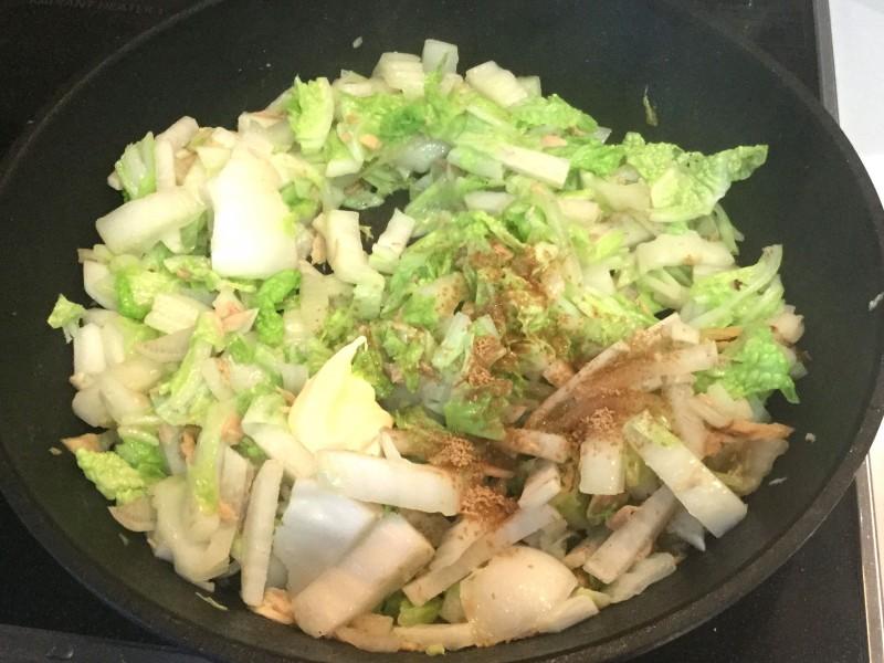 コクタップリ!白菜と大根のツナマヨ炒め手順3
