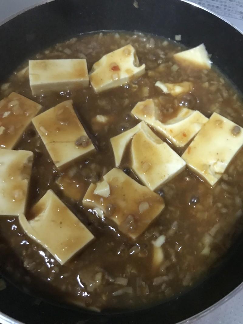 簡単麻婆豆腐手順4