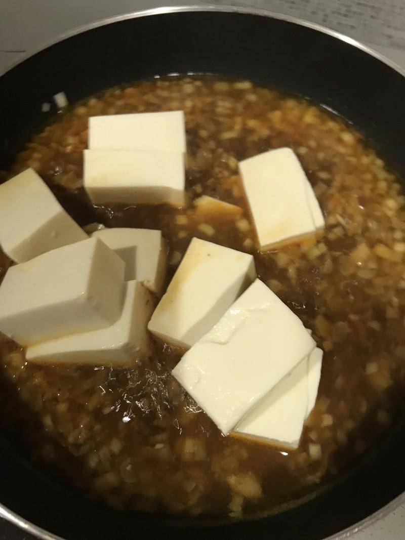 簡単麻婆豆腐手順3