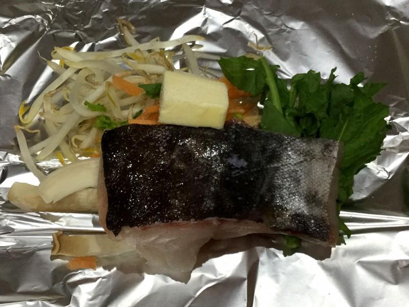 たっぷり野菜とタラのバター醤油ホイル焼き手順2